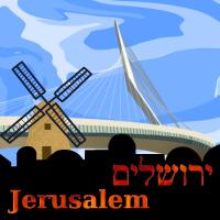 IsraelQuest Jerusalem Logo